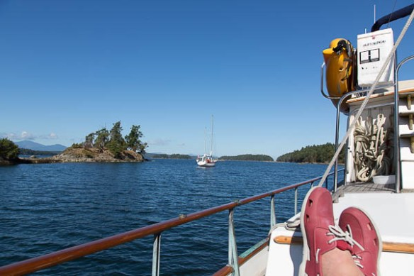 mv Archimedes Princess Cove relaxation