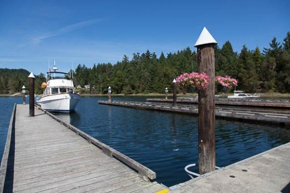 mv Archimedes Telegraph Harbor Marina