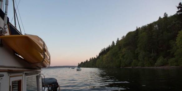 mv Archimedes Blake Island morning 1