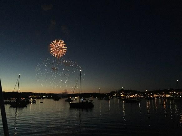 mv Archimedes Liberty Bay Poulsbo fireworks 1