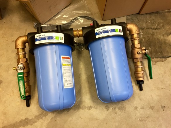 mv Archimedes new water filters