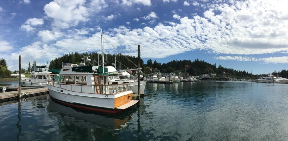 mv Archimedes Grand Banks Rendezvous at Roche Harbor 2