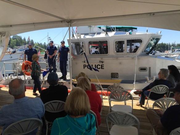 mv Archimedes Grand Banks rendezvous Coast Guard Talk 1