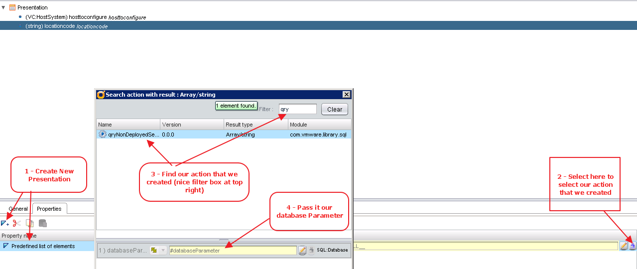 My First vCenter Orchestrator Workflow – Part 5 - A little