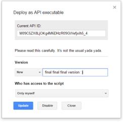 GoogleDeployAPI