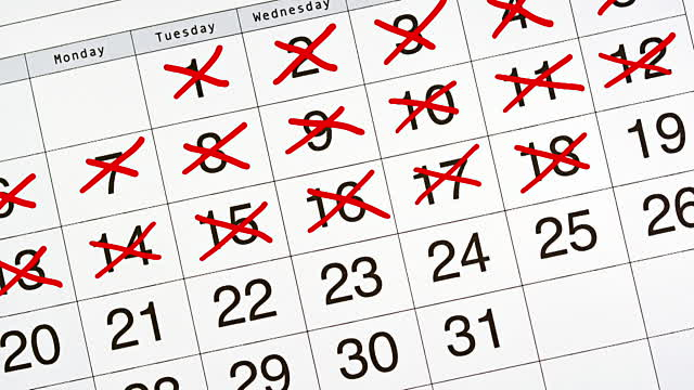 #vDM30in30 calendar
