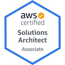 AWS Solutions Architect Associate Certification badge