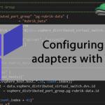 How to configure vmkernel ports with Terraform