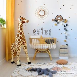 Rattan und Bambus im Babyzimmer