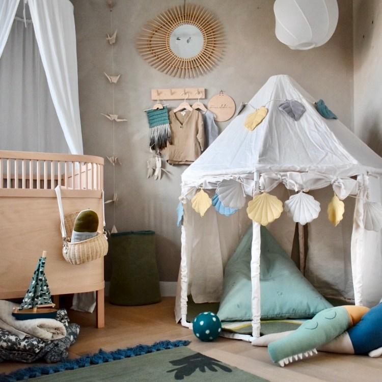 Fantasyroom Blog: Die schönsten Instagram Kinderzimmer - Jungenzimmer mit Pavillon