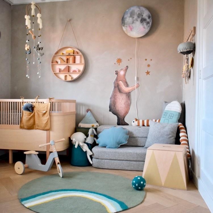 Fantasyroom Blog: Die schönsten Instagram Kinderzimmer - Spielecke mit Sebra Bett