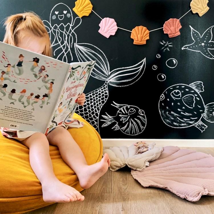 Fantasyroom Blog: Die schönsten Instagram Kinderzimmer - Sitzsack mit Maltafel