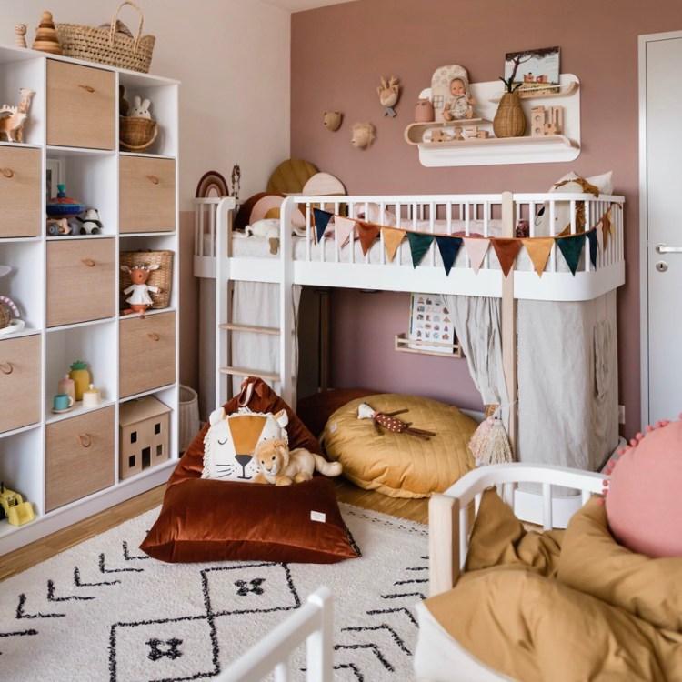 Fantasyroom Blog: Die schönsten Instagram Kinderzimmer - Mädchenzimmer mit Hochbett