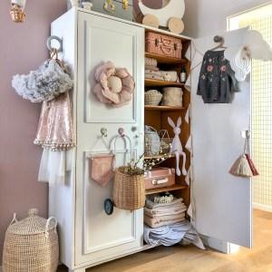 Fantasyroom Blog: Die schönsten Instagram Kinderzimmer - Alter Schrank im Mädchenzimmer