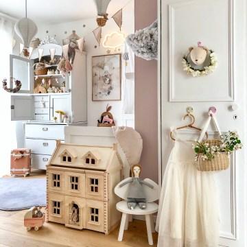 Fantasyroom Blog: Die schönsten Instagram Kinderzimmer - Mädchenzimmer in Naturtönen