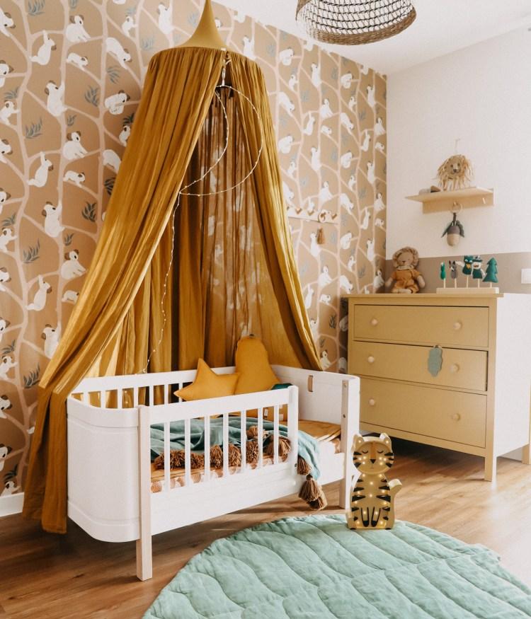 Fantasyroom Blog: Die schönsten Instagram Kinderzimmer - Jungenzimmer mit Ferm Living Tapete