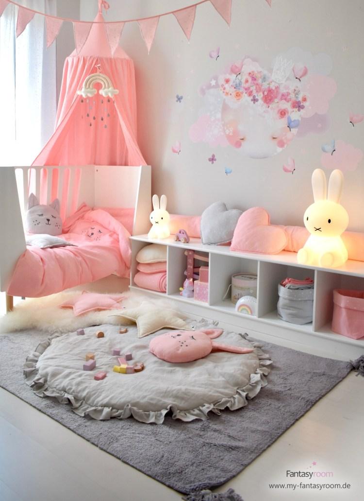 Kinderzimmer In Rosa Einrichten Gestalten