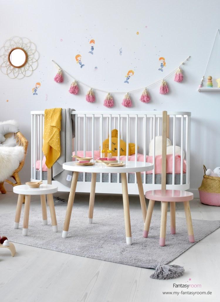 Kindersitzgruppe von Flexa Play in der Masivvholz/Mdf Kombination