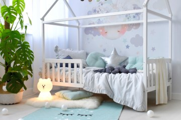 Kinderbett/Hausbett - die Ruheinsel im Kinderzimmer