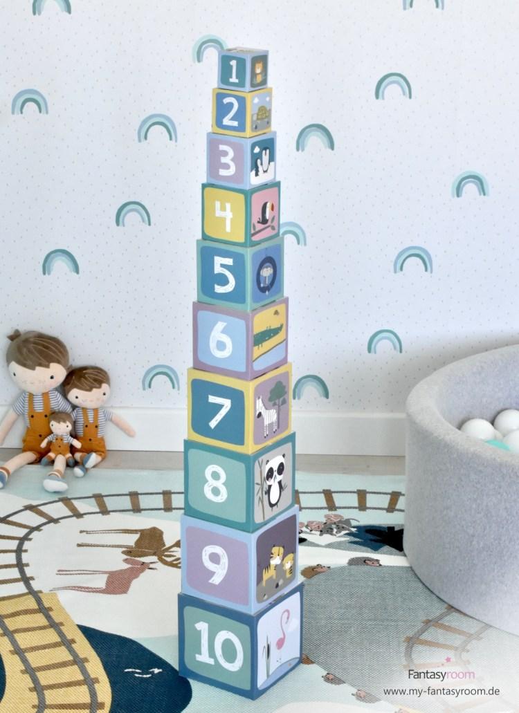 Stapelturm 'Zoo' von Little Dutch, vertikal oder horizontal bespielbar
