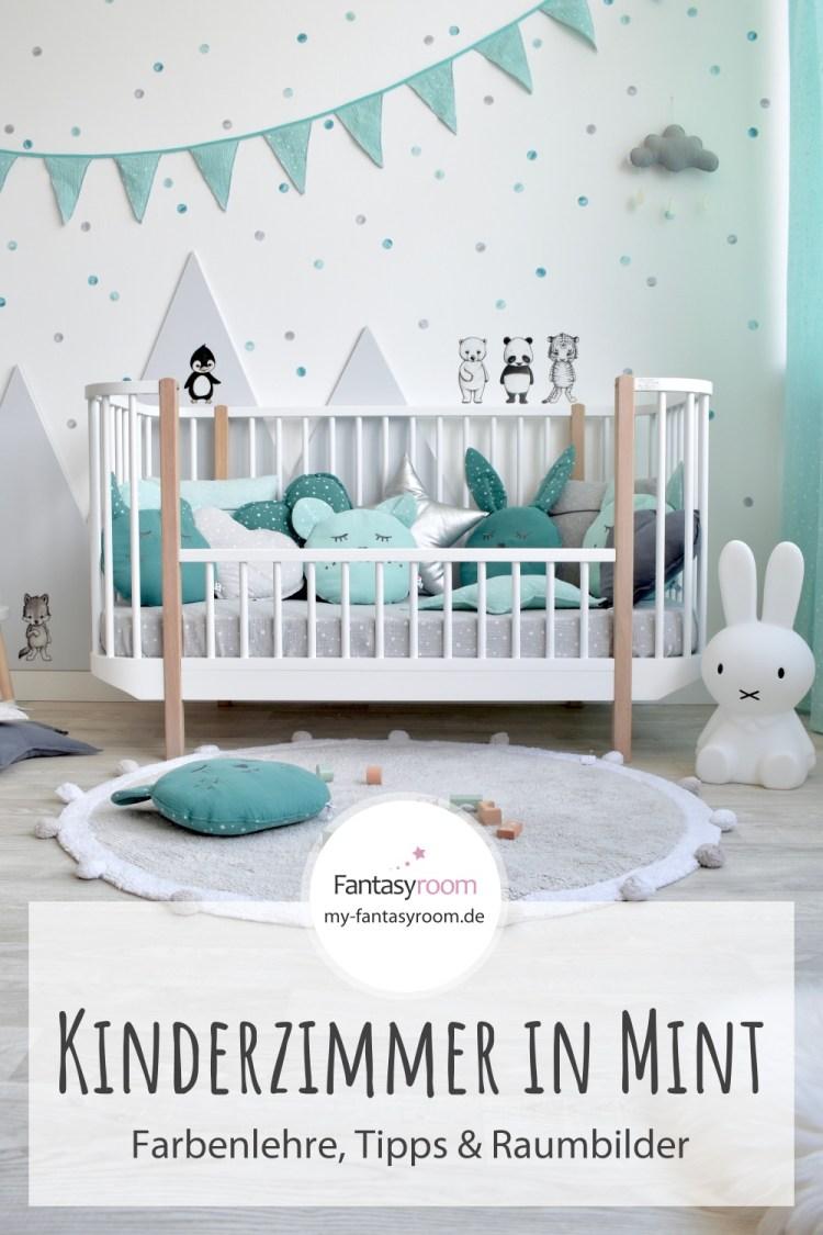 Kinderzimmer in Mint einrichten & gestalten: Tipps, Ideen & Raumbilder