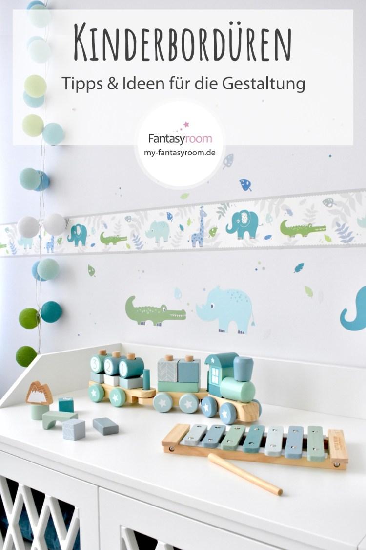 Tipps und Ideen für die Wandgestaltung mit Kinderbordüren