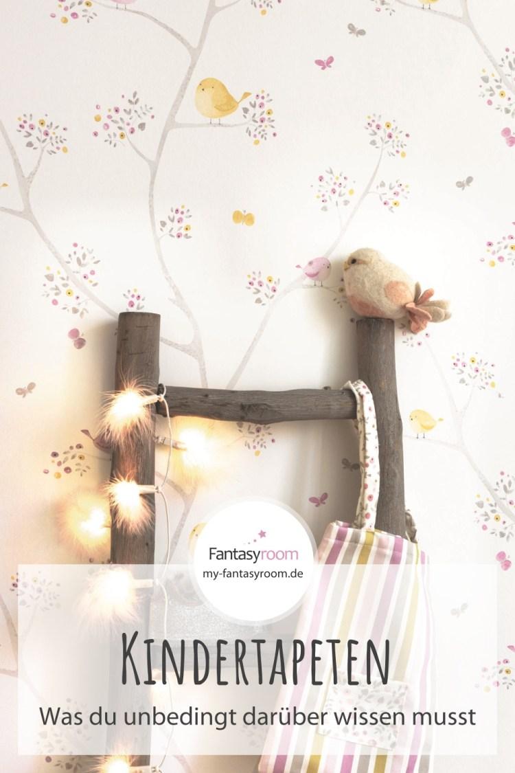 Pinterest // Tapetenlexikon: Alles was du über Kindertapeten wissen musst!