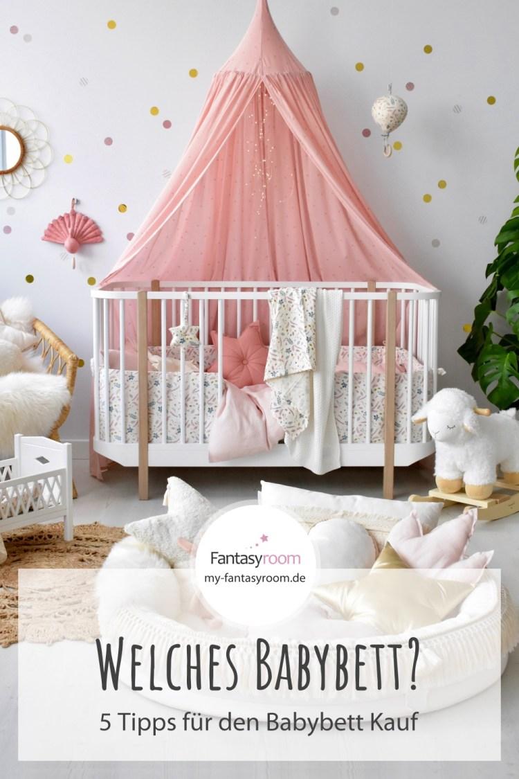 5 Tipps für den Babybett Kauf: Was du über dein neues Babybett wissen musst