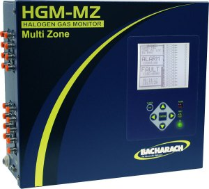 Multi-Zone Halogen Gas Monitor
