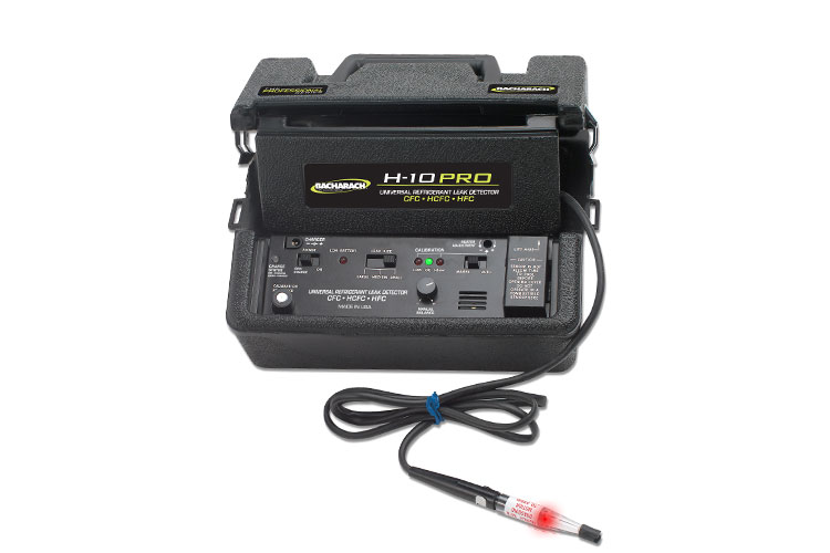H-10 refrigerant leak detector