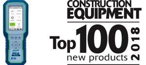 PCA 400 Combustion Analyzer named to Construction Equipment Magazine's Top 100 New Products of 2018 list.