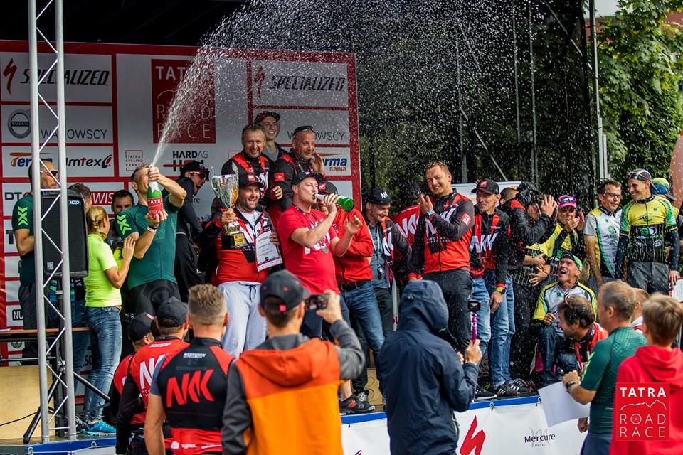 Tatra Road Race - na zielono, na drugim miejscu!