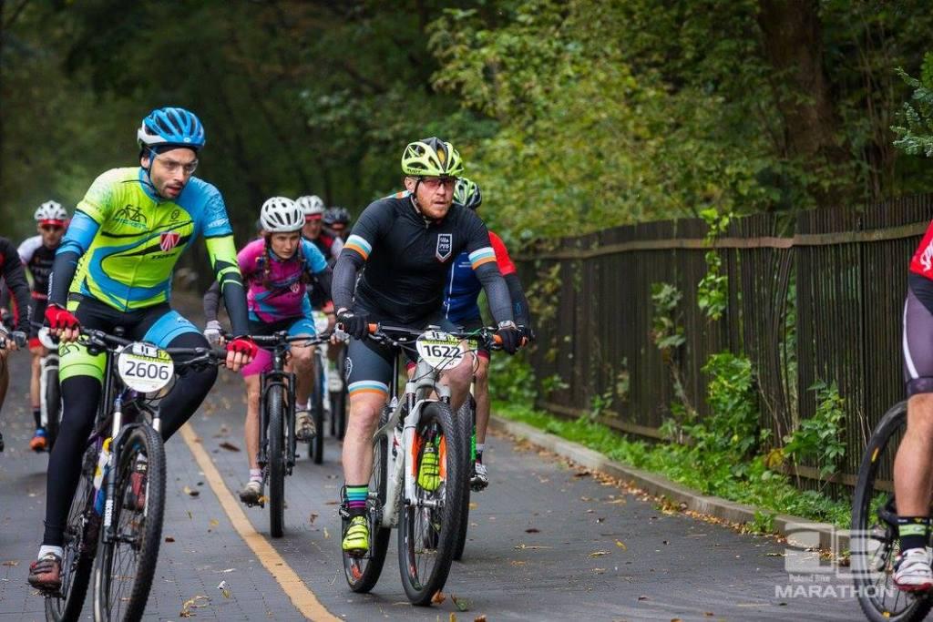 Poland Bike w Konstancinie-Jeziornie - jeszcze na asfalcie