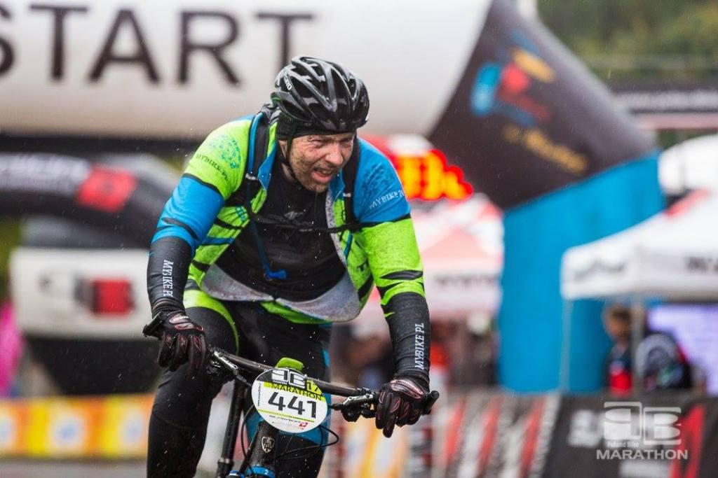 Andrzej na Poland Bike w Wawrze
