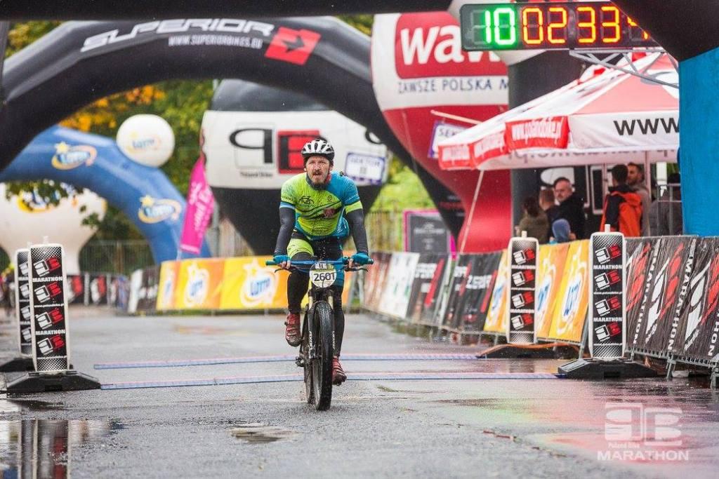 Adrian na Poland Bike w Wawrze