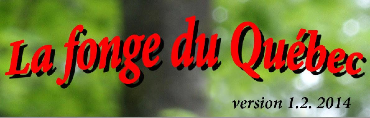 Mise à jour 2014 de «La fonge du Québec» pour iPhone / iPad