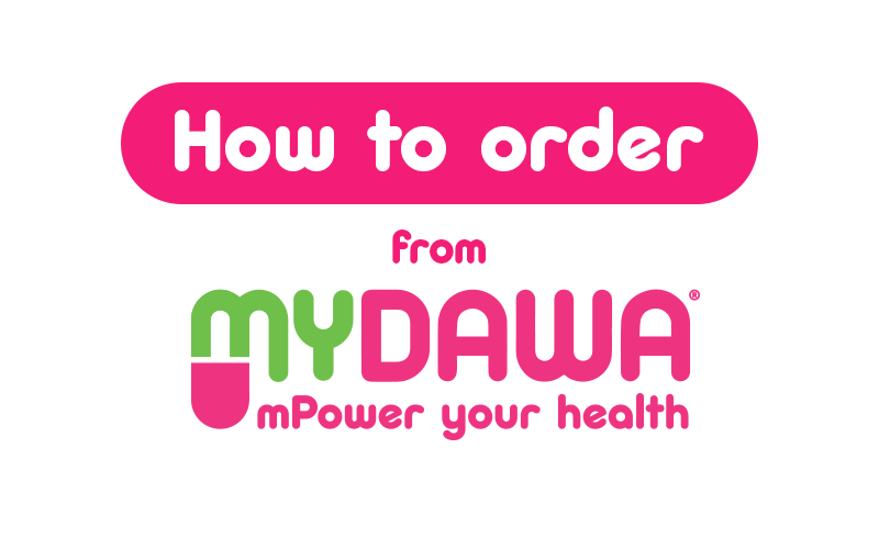 How to order from MYDAWA