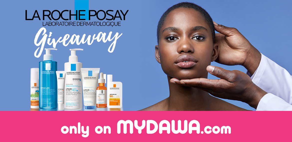 La Roche Posay giveaway banner