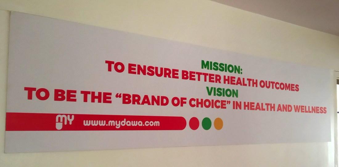 MYDAWA mission and vision Statement