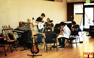 The Band at the Boise Rock School