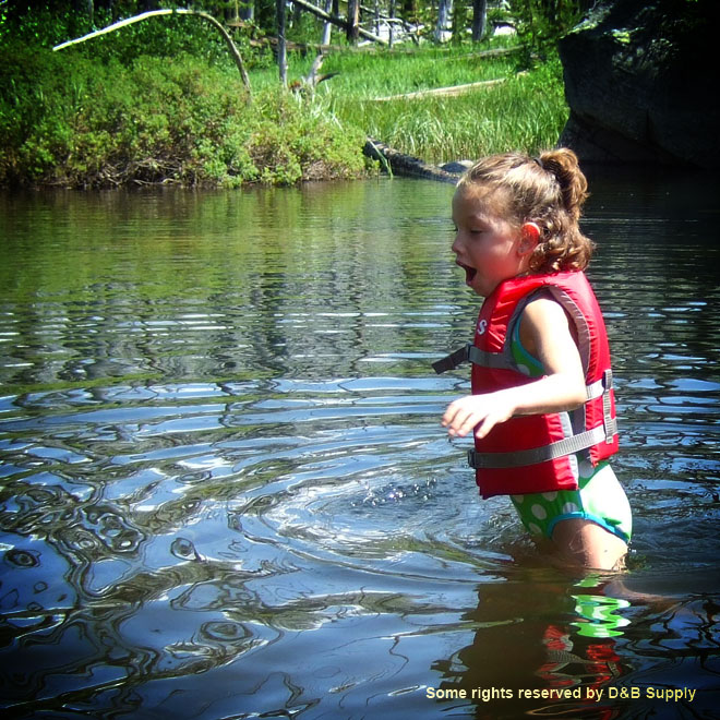 Ella in Cold Mountain Water