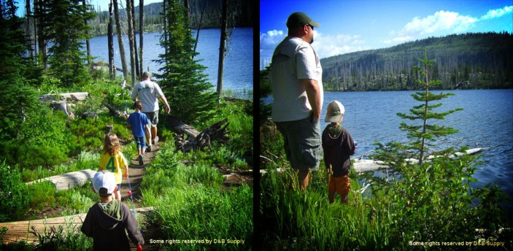 Hazard-Lake-Blog-dad-and-kids-fishing