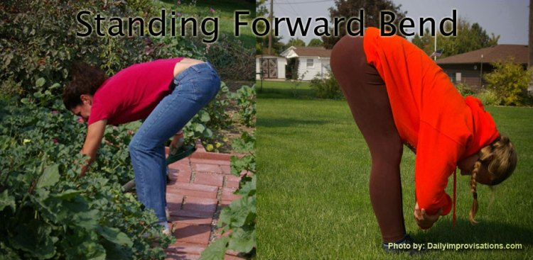 Yoga move: Standing Forward Bend