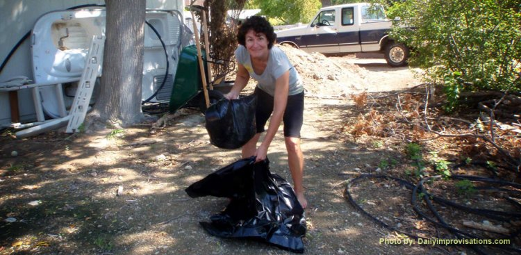 Laura Blodgett catches another skunk