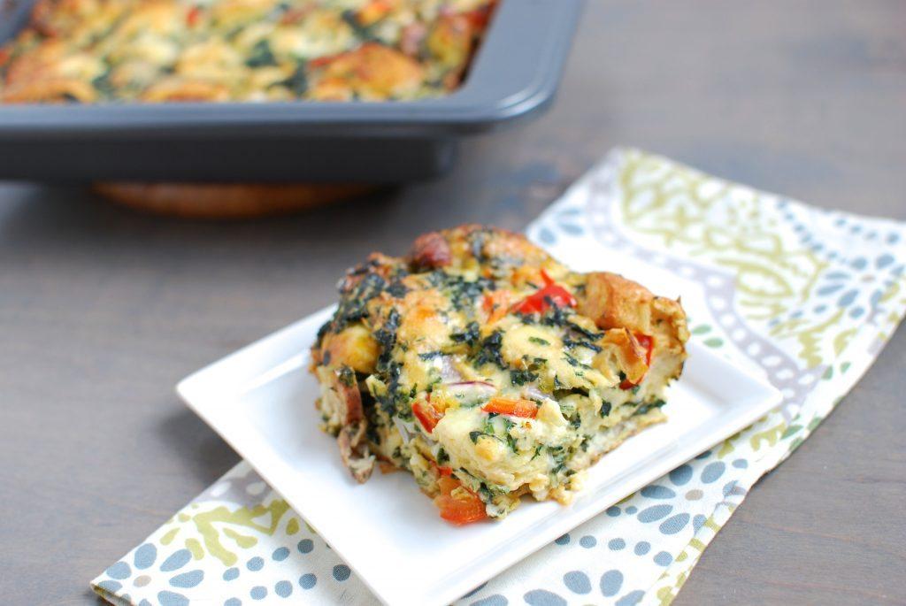 Sausage & Vegetable Eggbake