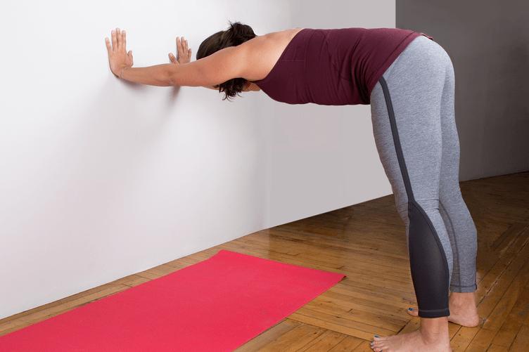 Yoga Wall Dog