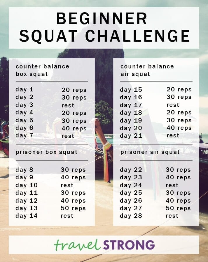 the 28 day squat