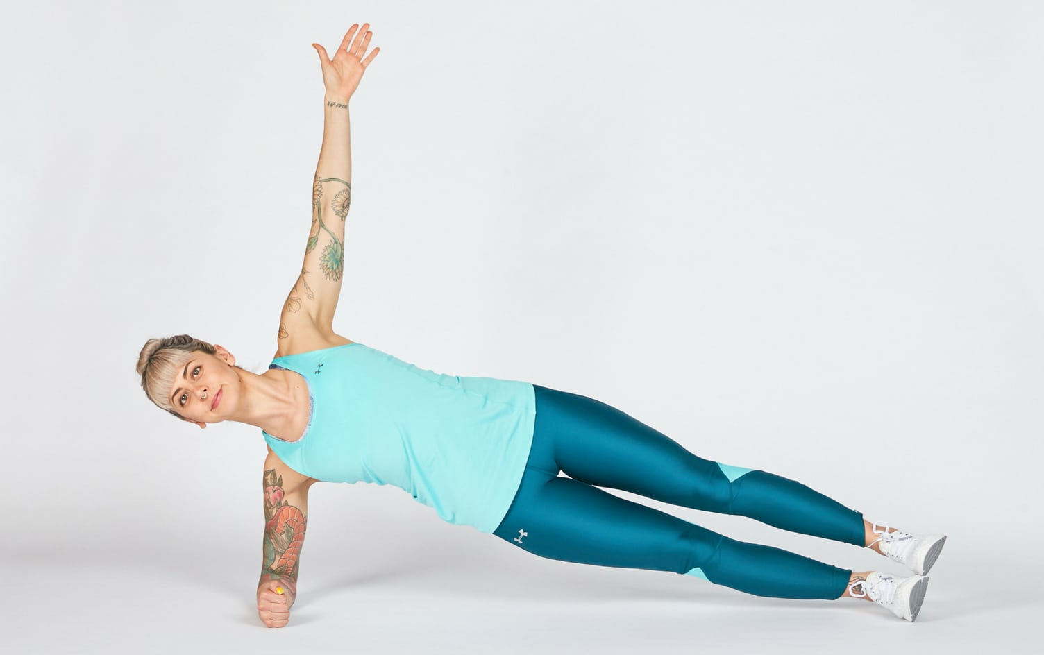 hight resolution of the side plank is another one of mcgill s big three exercises line your elbow up with your shoulder and your shoulder with your hip and heel