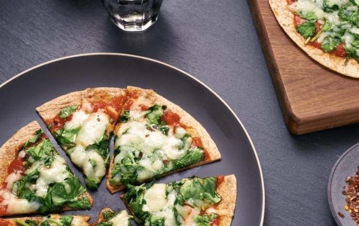 Easy Five-Ingredient Tortilla Pizzas