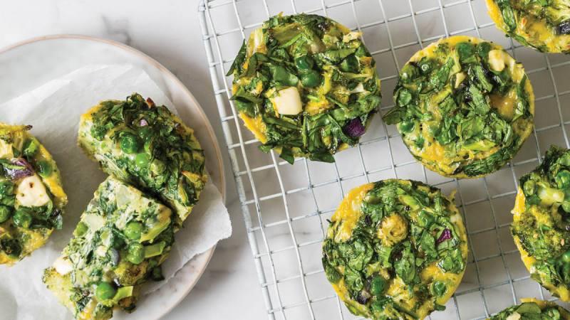 green fritartlets